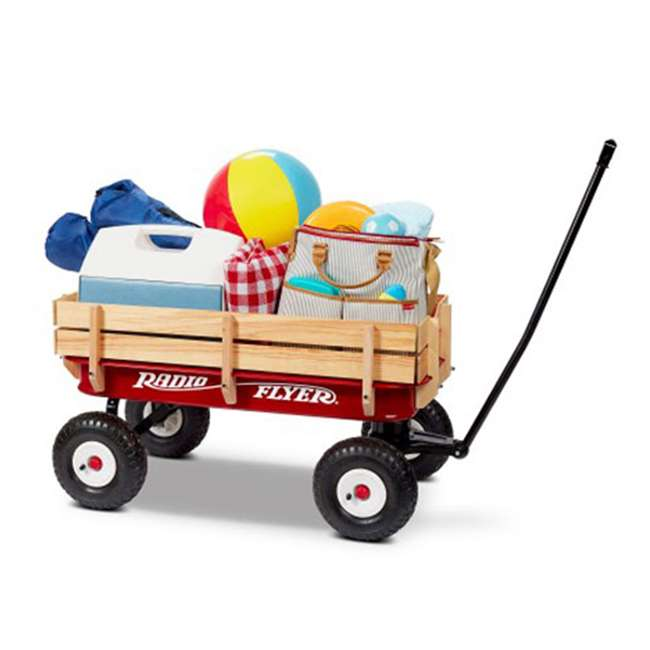 32Z Radio Flyer Full Size All-Terrain Steel and Wood Wagon 2