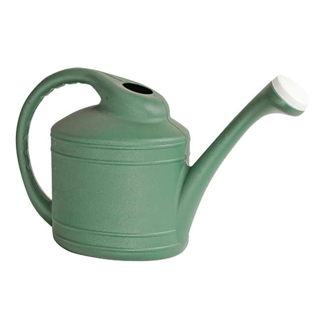 SPAT-WC8108FE Southern Patio Large 2 Gallon Plastic Rainfall Garden Plant Watering Can, Green