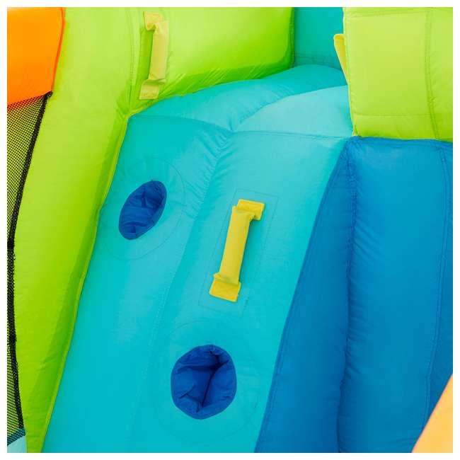 MTI-90717 RipTide Triple Fun Inflatable PVC Water Park with 3 Slides & Obstacle Course 7