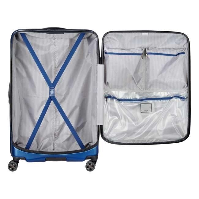 "40207998702 DELSEY Paris Cruise Lite Hardside 2.0 Carry On, 25"", & 29"" Suitcase Luggage Set 4"