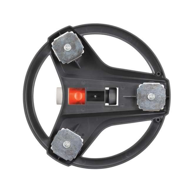 GARD-6984BZMX Gardena ZoomMaxx Oscillating Sprinkler & Sled Base w/ Water Timer