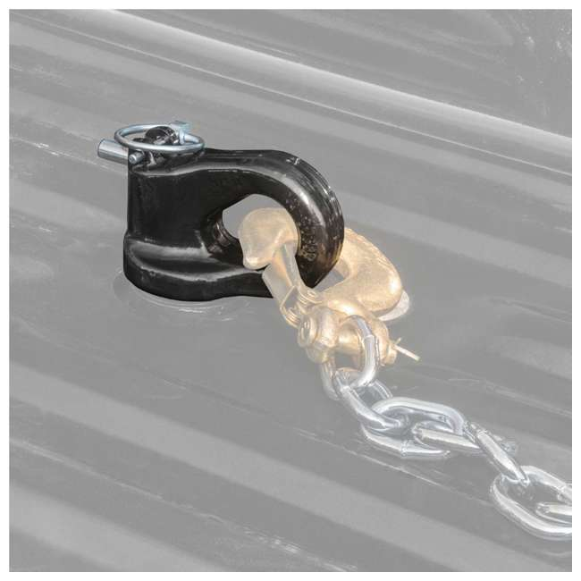 4 x CURT-60692 Curt 60692 Gooseneck Trailer Puck Ball & Chain Anchor Kit (4 Pack) 4