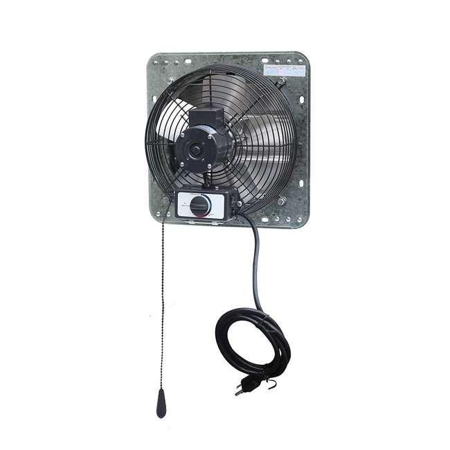 ILG8SF10V-T iLiving ILG8SF10V-T 3 Speed 10 Inch Exhaust Attic Garage Grow Fan w/ Thermostat 2
