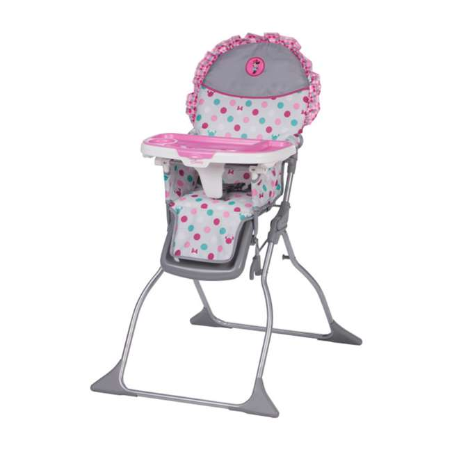 HC218EGF Disney Baby Simple Fold Plus High Chair with Adjustable Tray