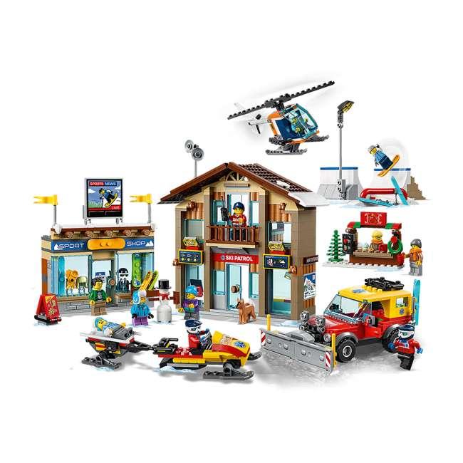 6283902 LEGO City 60203 Winter Ski Resort Building Kit 806 Pieces w/ 11 Minifigures
