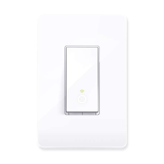 TPL-HS200-U-A TP-Link Smart White WiFi Light Switch Cover Compatible w/ Phone (Open Box)