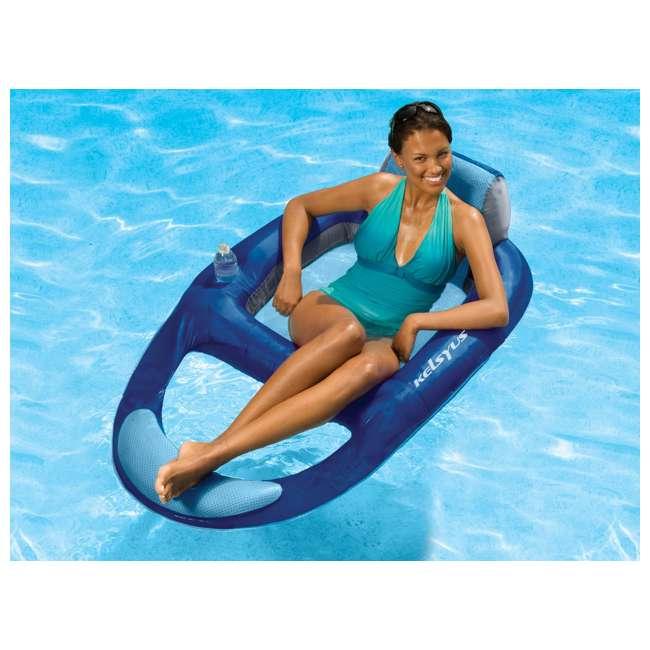 6 x 80014 Kelsyus Floating Lounger (6 Pack) 2