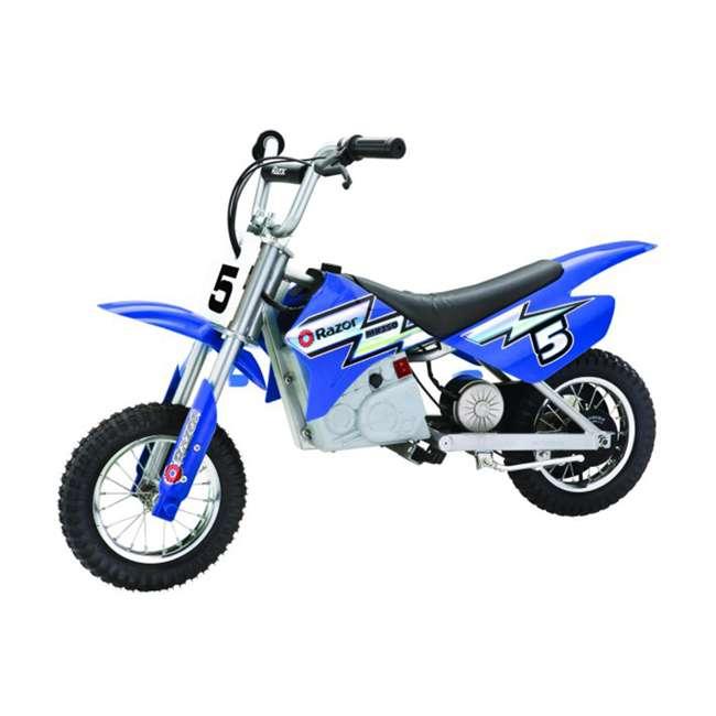 15128040 Razor MX350 Dirt Rocket Electric Motorcycle Dirt Bike, Blue