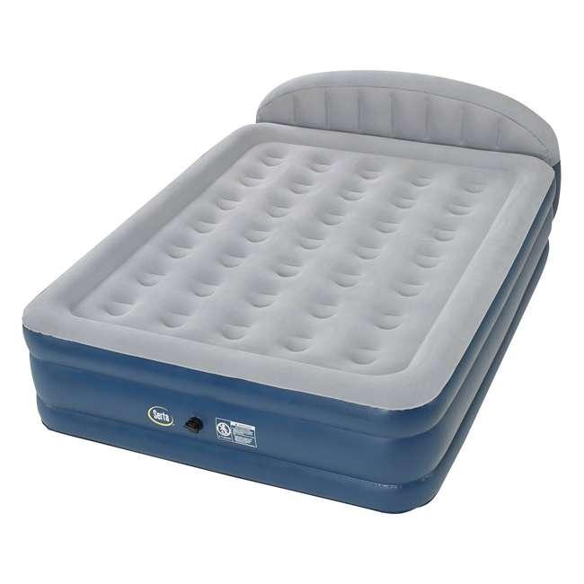 Telebrands Air Sofa Bed Review: Serta 18-Inch Raised Queen Headboard Perfect Sleeper Air