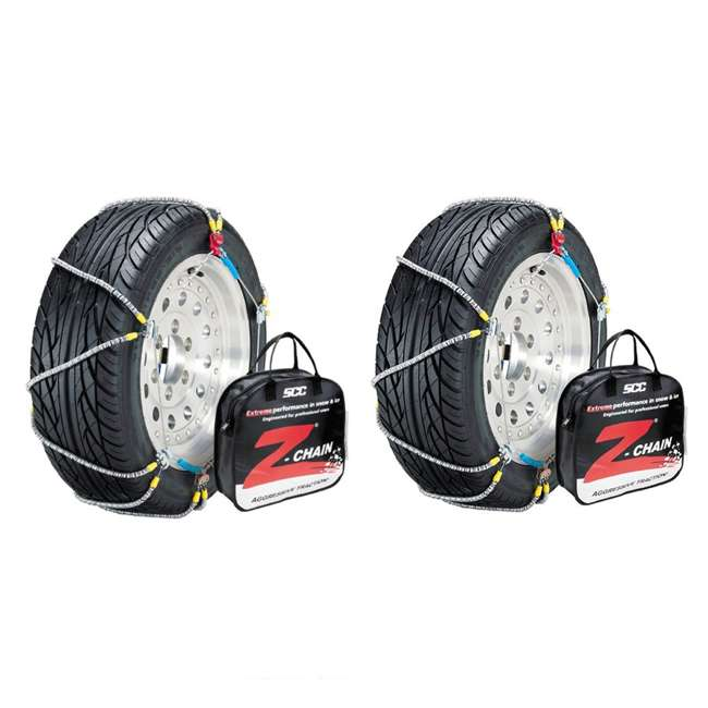 Z539 Peerless Z539 Z-Chain Snow Tire Chains, Pair (2 Pack)