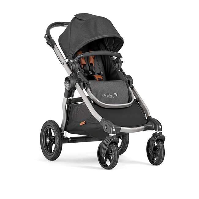 1959502 Baby Jogger City Select Single Stroller, Black