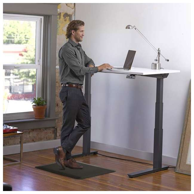 6 x AFM - Flat LifeSpan 34 x 20-Inch Home Office Non-Slip Standing Mat, Black (6 Pack) 3