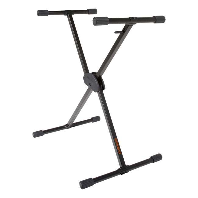 KS-10X-U-A Roland Adjustable X Style Music Keyboard Piano Stage Rack Stand (Open Box)