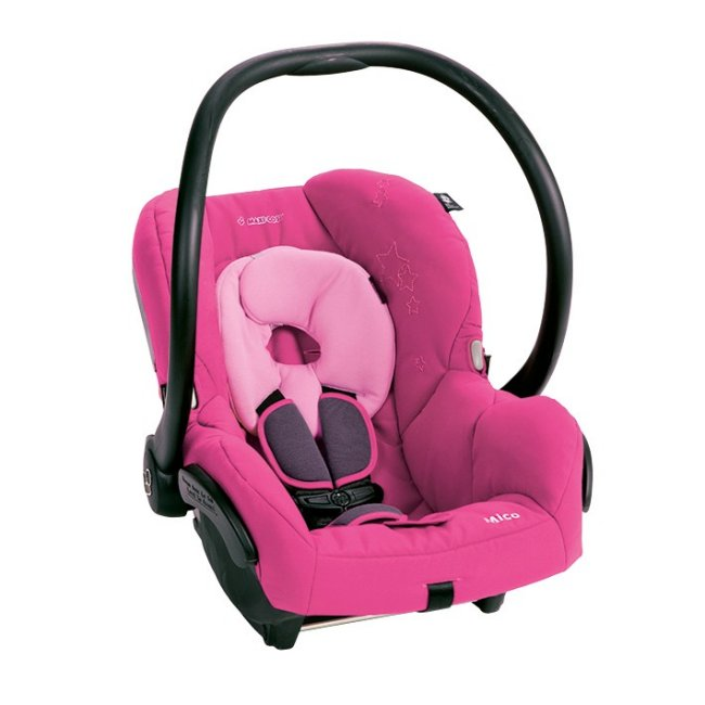 IC099BGW Maxi-Cosi Mico Baby Infant Seat & Base - Sweet Cerise