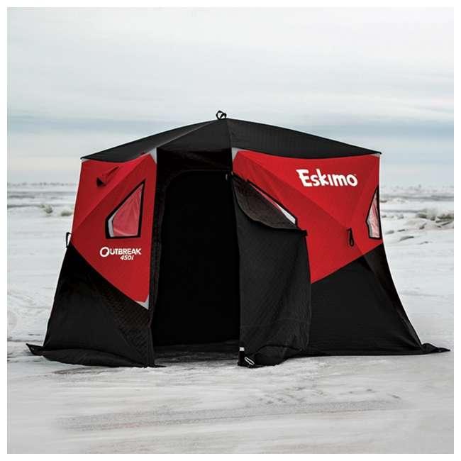 ESK-32100 Eskimo 32100 Outbreak 450i 5-Person Insulated Ice Fishing Shelter 1