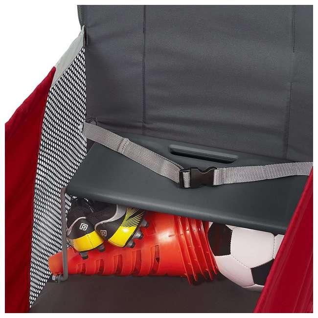 3965Z Radio Flyer Kid & Cargo 2 Seat Folding Wagon, Red 8