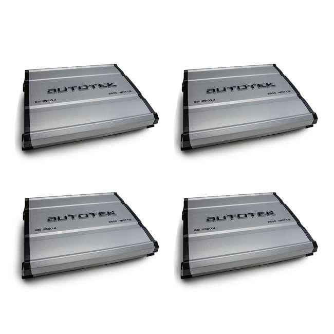 4 x SS-2500.4 Autotek SS-2500.4 Super Sport Car Amplifier (4 Pack)