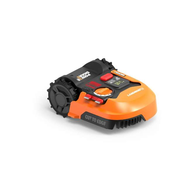 WR140 Worx WR140 Landroid M 20V 7 Inch Electric Cordless Robotic Lawn Mower, Orange