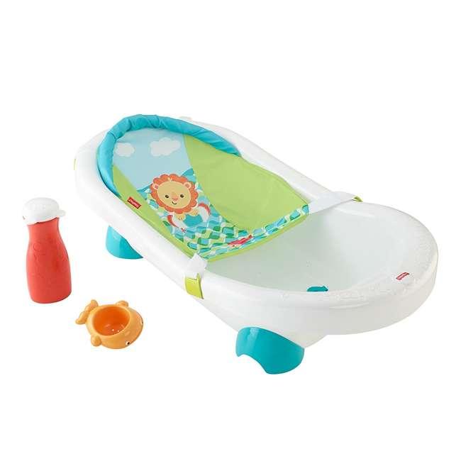 3 x CHP84 Fisher Price Go Wild Baby Bathtub  (3 Pack) 1