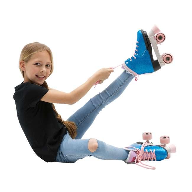 168218 Circle Society Bling Bubble Gum Kids Skates, Sizes 3 to 7 6