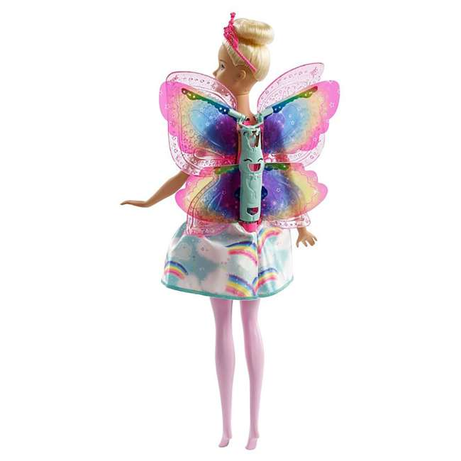 4 x FRB08 Mattel Barbie Dreamtopia Flying Wings Fairy Doll (4 Pack) 9