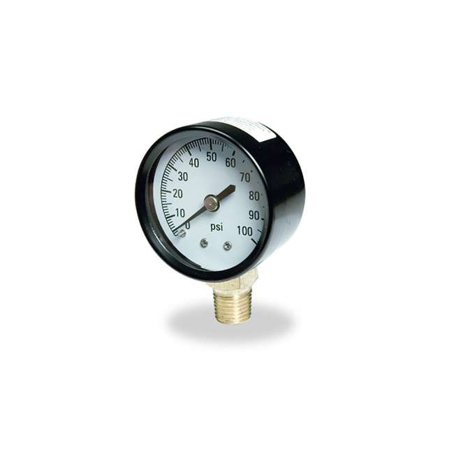 TC2104-P2 Flotec Brands2O TC2104 P2 Well Water Pump Pressure Gauge (2 Pack) 1