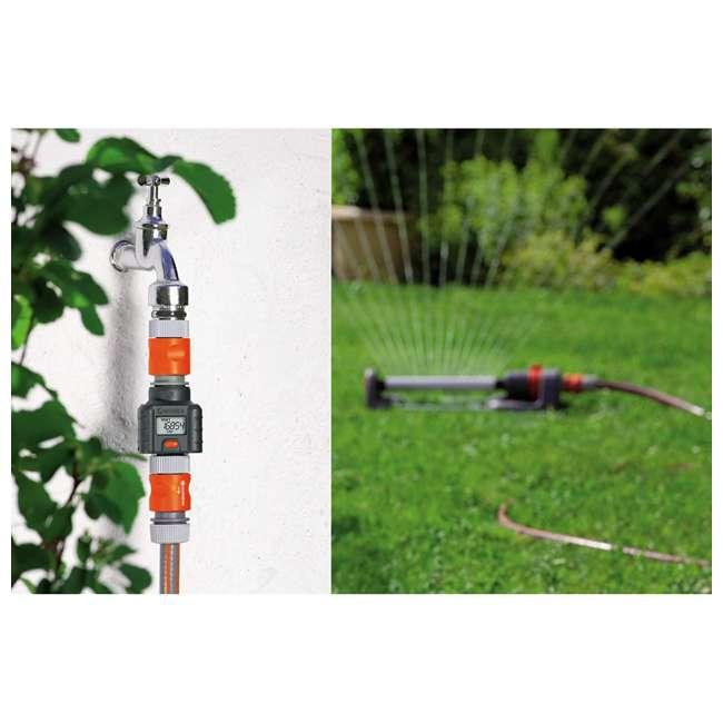 GARD-9188-U Gardena Water Smart Flow Meter Water Timer 2