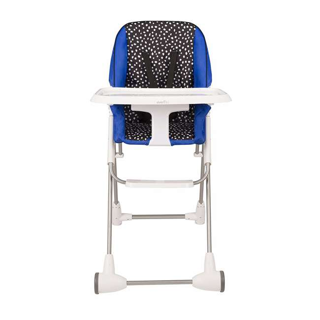 EVEN-25311874 Evenflo Symmetry Foldable Baby Toddler High Chair, Hayden Dot 2