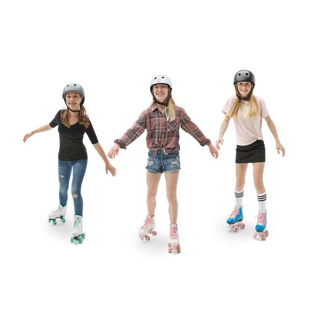 168218 Circle Society Bling Bubble Gum Kids Skates, Sizes 3 to 7 5