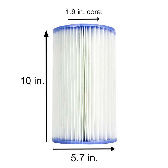 3 x 29005E-6pk Intex Pool Easy-Set Type B Replacement Filter Cartridge (18 Pack) 2