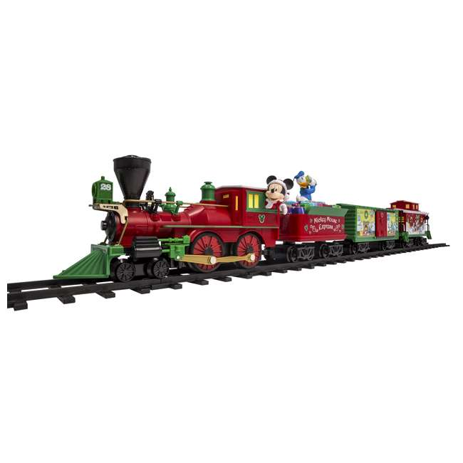 711773 Lionel Trains Mickey Mouse Express Disney Christmas Train Set (For Parts) 2