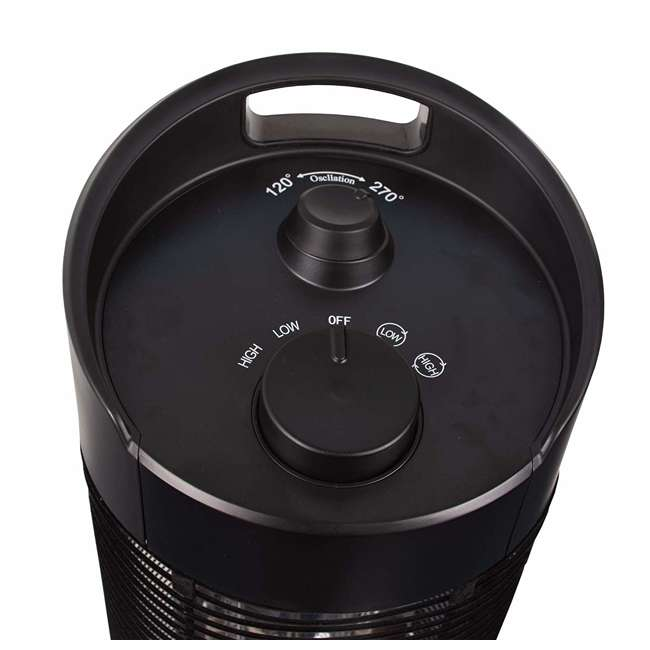 REM-211CF-120 Remington REM-211CF-120 Radiant 1200W Electric Portable Space Heater, Black 2