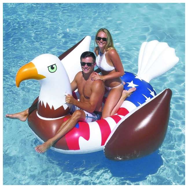 90700 Giant Patriot Eagle Swimming Pool Float 8