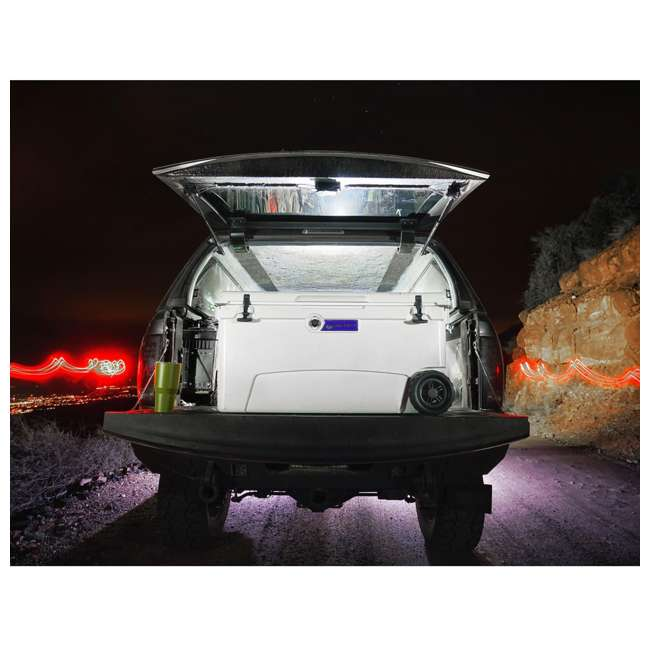 BFDB70WS-WH Big Frig Denali 70 Quart Insulated Wheeled Camp Cooler with Accessories, White 5