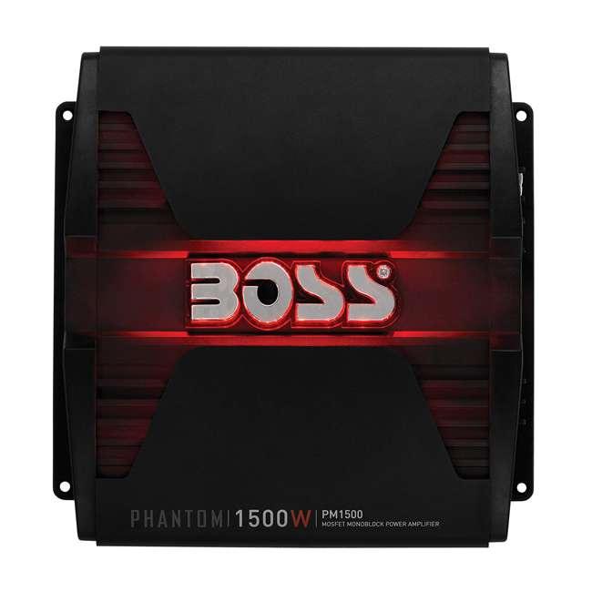 PM1500MK Boss Phantom PM1500 1500-Watt 2-Ohm Mono A/B Amplifier 3