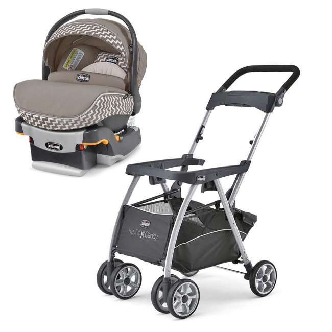 Chicco KeyFit 30 Infant Stroller Caddy Zip Car Seat And Base Travel System CHI 0607906295 0607901542