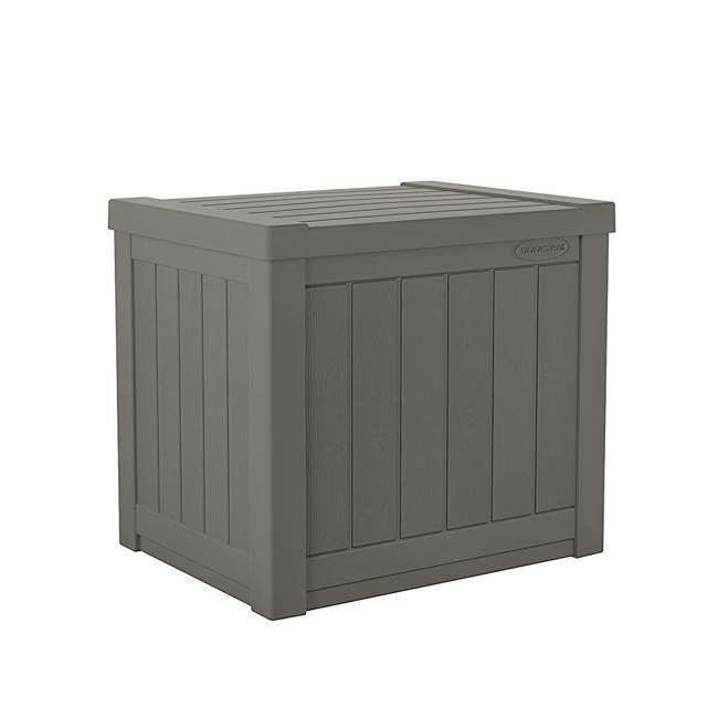 SS500ST Suncast SS500ST 22 Gallon Small Resin Outdoor Patio Storage Deck Box (2 Pack) 1