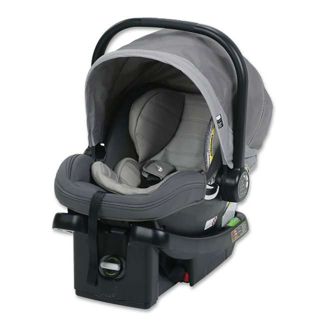 1969638 Baby Jogger City Go Baby Infant Car Seat, Steel Gray