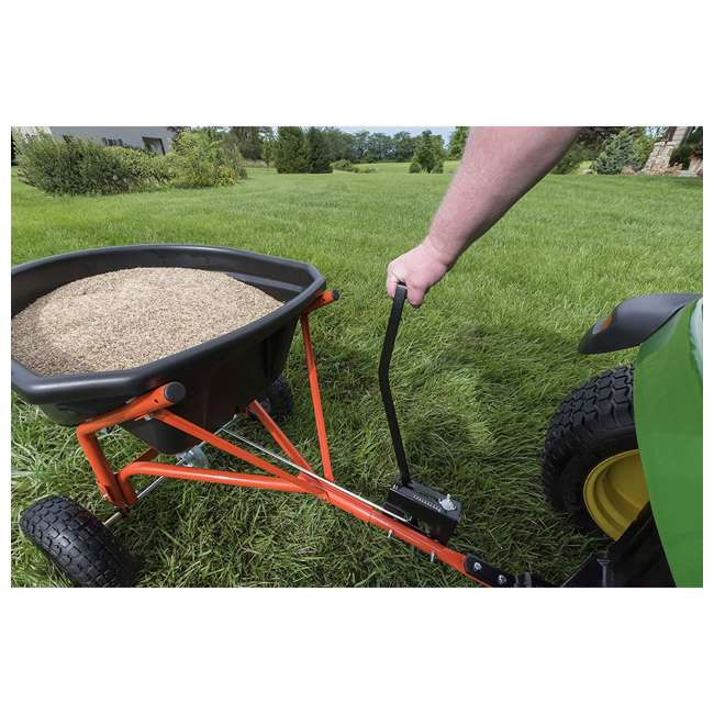 45-0527 Agri-fab 110 Pound Capacity Tow Broadcast Spreader 3