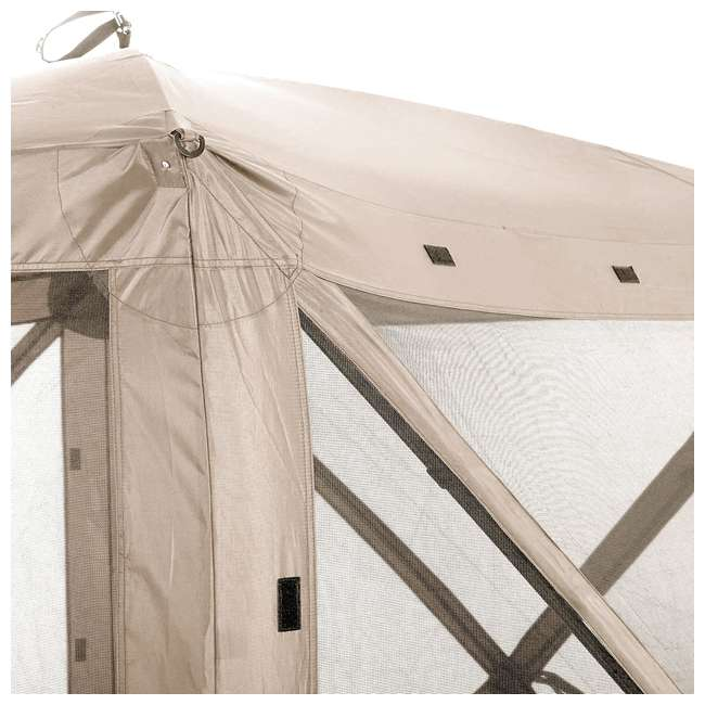 CLAM-TV-114243 Clam Quick-Set Traveler Portable Outdoor Gazebo (2 Pack) 3