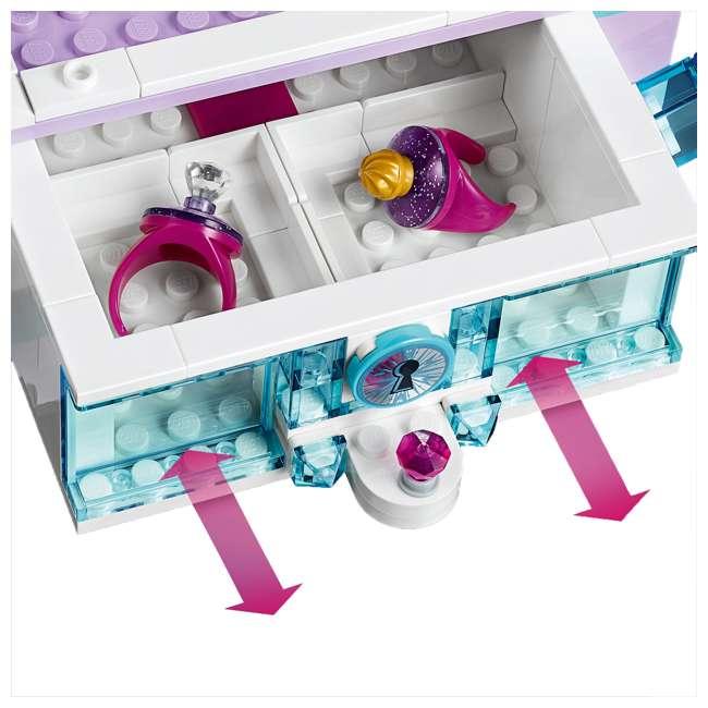 6251063 LEGO 41168 Frozen II Elsa's Jewelry Box Block Building Kit w/ 2 Minifigures 5