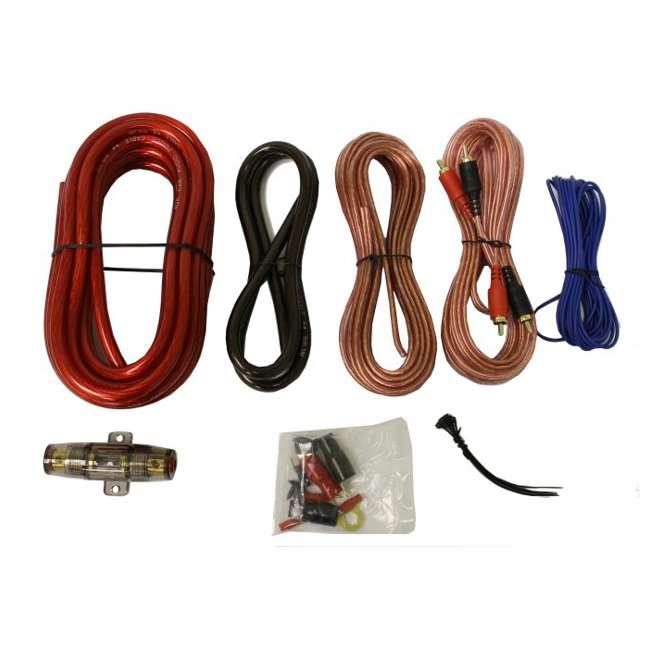 4GAUGE Q POWER 4-Gauge 2000W Amplifier Wiring Installation Kit 1