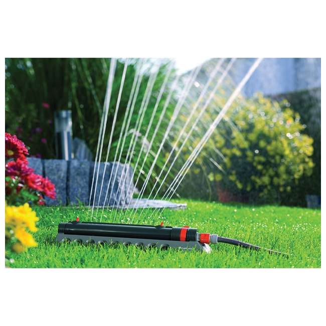 GARD-1975-U Gardena 1975 Aquazoom Oscillating Lawn Sprinkler 4