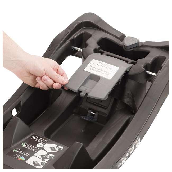 6391600 Evenflo LiteMax 35 Infant Rear Facing Durable Car Seat Attachment Base, Black 2