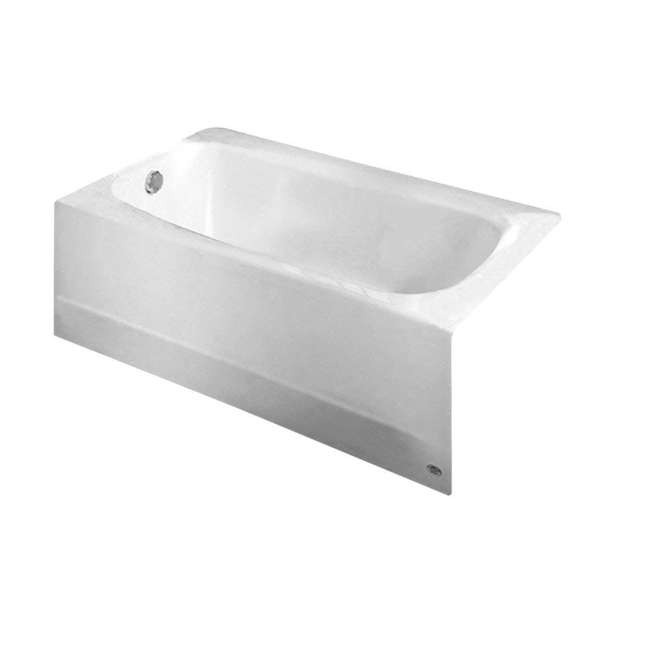 American Standard Cambridge 5-Feet Bath Tub, White