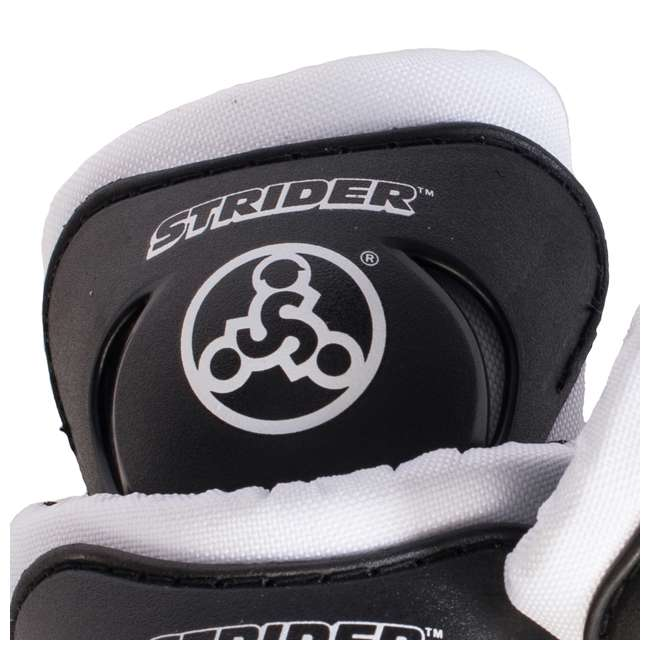 ST-S4WT + APADSET-SM Strider 12 Sport Balance Bike + Protection and Safety Elbow and Knee Pad Set 7