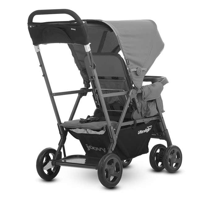 JVY-8119 Joovy Caboose Ultralight Lightweight Canopy Stroller, Charcoal 1