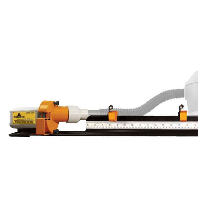52-0601-W Weston 8000 RPM Carbon Arrow Cutting Saw with Dust Collector 4