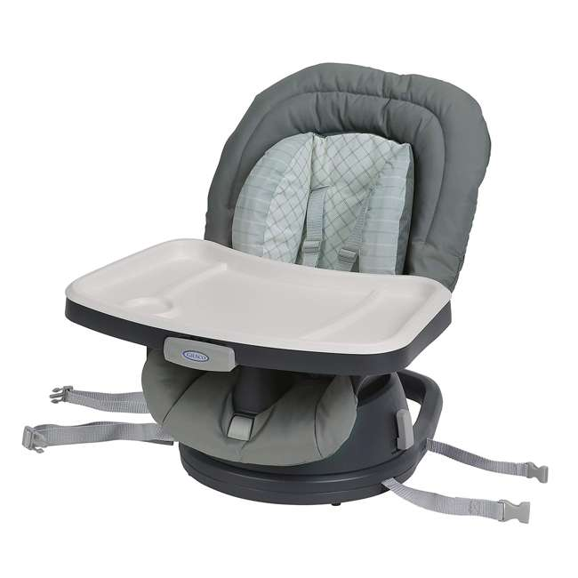 2002804 Graco 2002804 Swivi Seat 3-in-1 Baby Toddler Booster Seat with Tray, Brinley