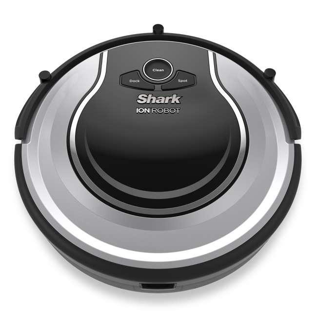 RV700_EGB-RB-U-A Shark Ion Robot Vacuum w/ Easy Schedule Remote (Certified Refurbished)(Open Box)